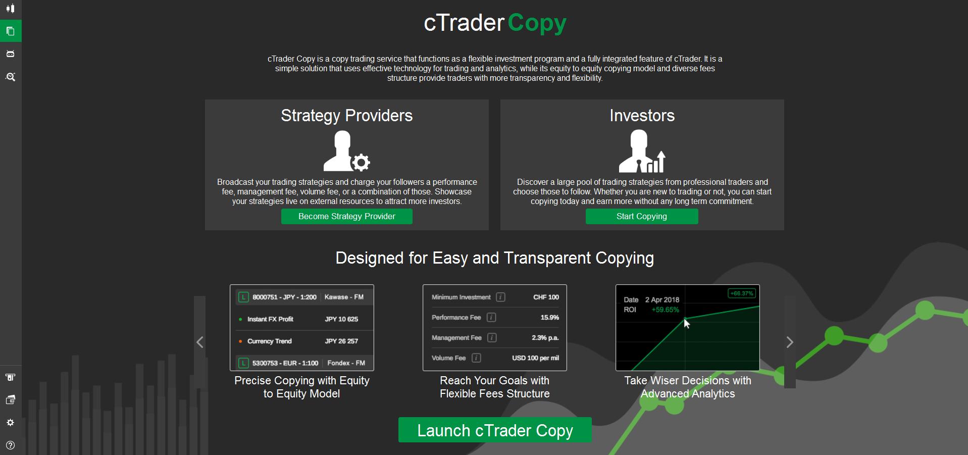 cTrader copytrading